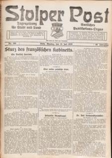Stolper Post. Tageszeitung für Stadt und Land Nr. 166/1926