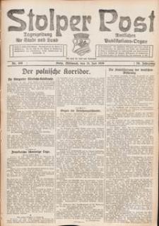 Stolper Post. Tageszeitung für Stadt und Land Nr. 168/1926
