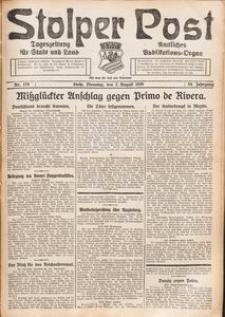 Stolper Post. Tageszeitung für Stadt und Land Nr. 179/1926