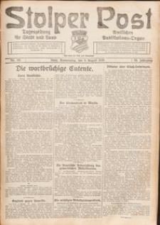 Stolper Post. Tageszeitung für Stadt und Land Nr. 181/1926