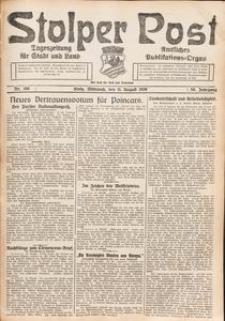 Stolper Post. Tageszeitung für Stadt und Land Nr. 186/1926