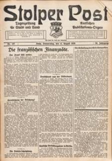Stolper Post. Tageszeitung für Stadt und Land Nr. 187/1926