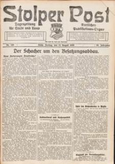 Stolper Post. Tageszeitung für Stadt und Land Nr. 188/1926