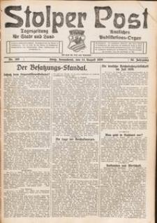 Stolper Post. Tageszeitung für Stadt und Land Nr. 189/1926