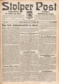 Stolper Post. Tageszeitung für Stadt und Land Nr. 191/1926