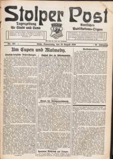 Stolper Post. Tageszeitung für Stadt und Land Nr. 193/1926