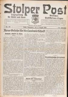 Stolper Post. Tageszeitung für Stadt und Land Nr. 195/1926
