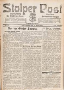 Stolper Post. Tageszeitung für Stadt und Land Nr. 198/1926