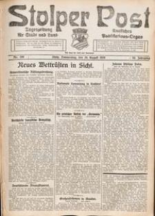 Stolper Post. Tageszeitung für Stadt und Land Nr. 199/1926