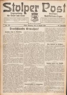 Stolper Post. Tageszeitung für Stadt und Land Nr. 203/1926