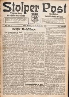 Stolper Post. Tageszeitung für Stadt und Land Nr. 214/1926