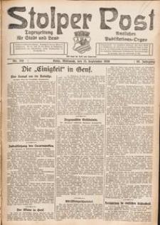 Stolper Post. Tageszeitung für Stadt und Land Nr. 216/1926
