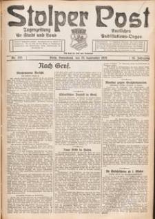 Stolper Post. Tageszeitung für Stadt und Land Nr. 225/1926
