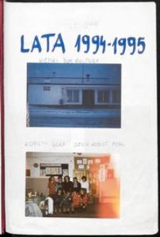Księga Pamiątkowa : Kronika Wiejskiego Domu Kultury we Wrzącej [1994-1995]