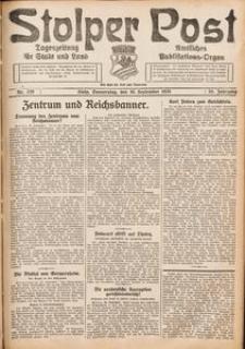 Stolper Post. Tageszeitung für Stadt und Land Nr. 229/1926