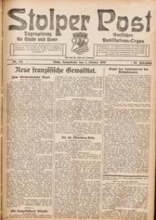 Stolper Post. Tageszeitung für Stadt und Land Nr. 231/1926