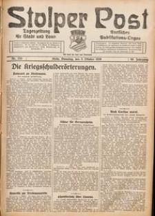 Stolper Post. Tageszeitung für Stadt und Land Nr. 233/1926