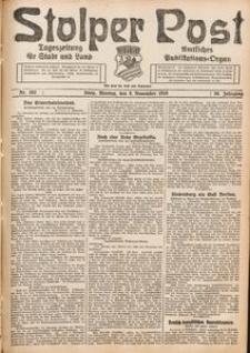 Stolper Post. Tageszeitung für Stadt und Land Nr. 262/1926