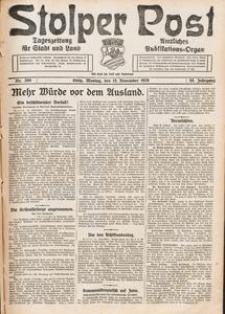 Stolper Post. Tageszeitung für Stadt und Land Nr. 268/1926