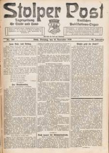 Stolper Post. Tageszeitung für Stadt und Land Nr. 269/1926