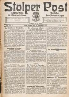 Stolper Post. Tageszeitung für Stadt und Land Nr. 271/1926