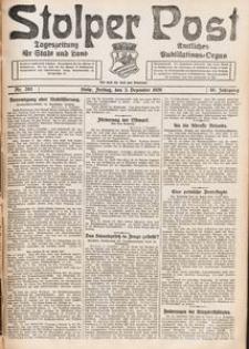 Stolper Post. Tageszeitung für Stadt und Land Nr. 283/1926