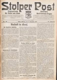 Stolper Post. Tageszeitung für Stadt und Land Nr. 285/1926