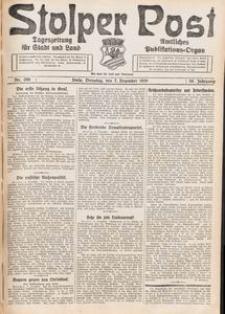 Stolper Post. Tageszeitung für Stadt und Land Nr. 286/1926