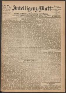 Inteligenz-Blatt für Stolp, Schlawe, Lauenburg und Bütow. Nr 98/1869 r.