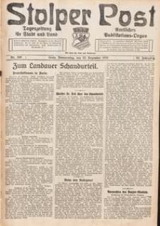 Stolper Post. Tageszeitung für Stadt und Land Nr. 300/1926