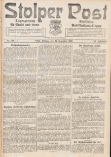 Stolper Post. Tageszeitung für Stadt und Land Nr. 301/1926