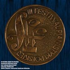 3 Festiwal Pianistyki Polskiej w Słupsku [Medal]