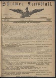 Kreisblatt des Schlawer Kreises 1882 No 13