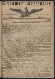 Kreisblatt des Schlawer Kreises 1882, No. 15