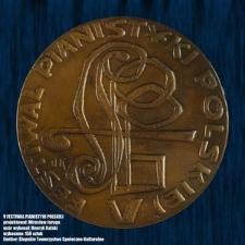 Medale 5 Festiwal Pianistyki Polskiej w Słupsku [Medal]