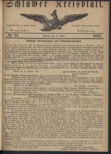 Kreisblatt des Schlawer Kreises 1882 No 24