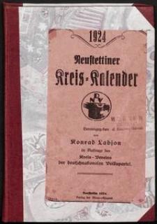 Neustettiner Kreiskalender 1924