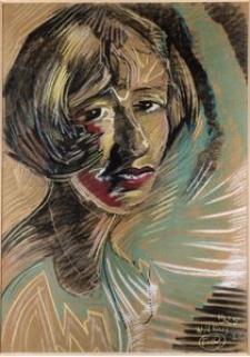 Portret Leny Iżyckiej