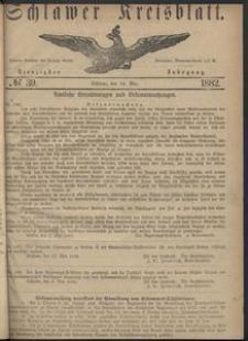 Kreisblatt des Schlawer Kreises 1882 No 39