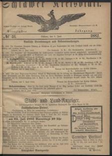 Kreisblatt des Schlawer Kreises 1882 No 46