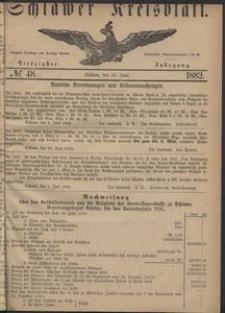 Kreisblatt des Schlawer Kreises 1882 No 48