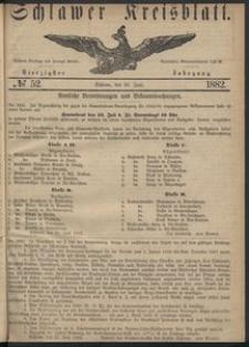Kreisblatt des Schlawer Kreises 1882 No 52