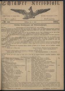 Kreisblatt des Schlawer Kreises 1882 No 53
