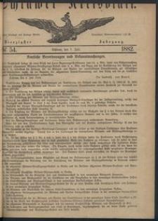 Kreisblatt des Schlawer Kreises 1882 No 54