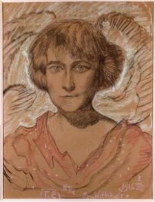 Portret Kazimiery Żuławskiej