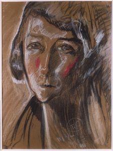 Portrait Zofia Humpola-Mściwujewski's