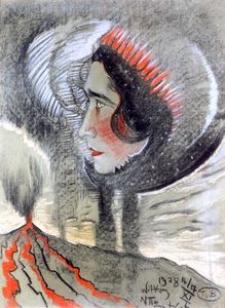 Portrait Irena Krzywicki's [1]
