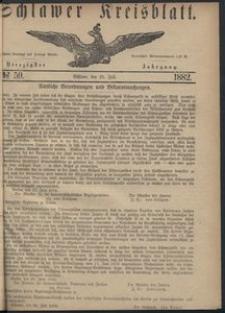 Kreisblatt des Schlawer Kreises 1882 No 59