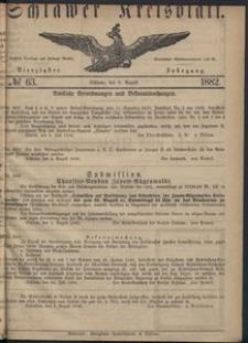 Kreisblatt des Schlawer Kreises 1882 No 63