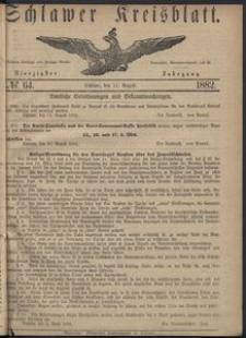 Kreisblatt des Schlawer Kreises 1882 No 64
